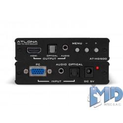 ESCALADOR DE VGA A HDMI ATLONA AT-HD500