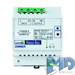 Módulo atenuador universal Omni-Bus, riel DINLEVITON 110A00-2
