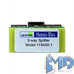 HUB de 3 vías omni-bus119A00-1