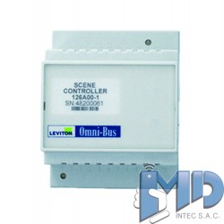Módulo controlador de escenas Omni-Bus, riel DIN LEVITON 126A00-1