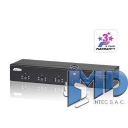 VM0404 - Conmutador de matriz VGA/Audio 4x4
