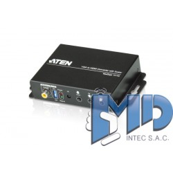 VC182 - Convertidor VGA/Audio a HDMI con escalador