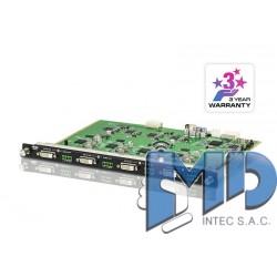 VM8604 - Placa de salida DVI de 4 puertos con escalador
