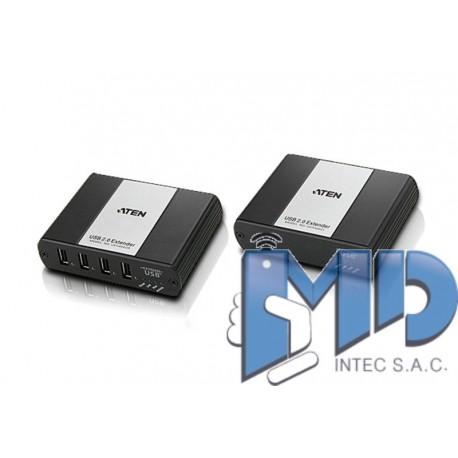 UEH4002 - Alargador Cat 5 USB 2.0 de 4 puertos