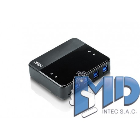 US434 - Dispositivo para compartir periféricos con 4 puertos USB 3.0