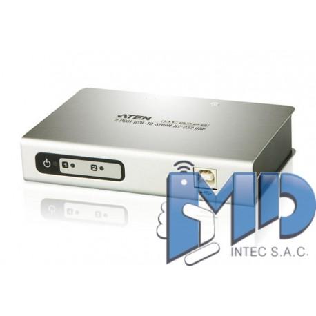 UC2322 - Concentrador USB a serie RS-232 de 4 puertos