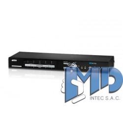 CM1164 - Switch KVM multivista DVI USB de 4 puertos