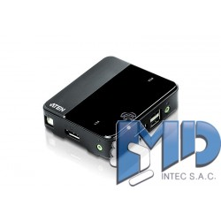 CS782DP - Switch KVM DisplayPort USB de 2 puertos (se admite 4K)