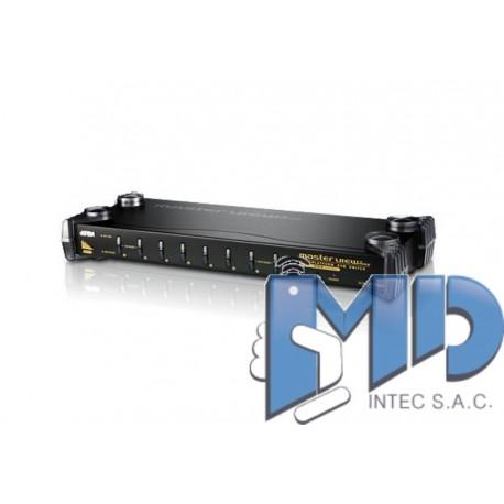 CS1758 - Conmutador KVM VGA/Audio PS/2-USB de 8 puertos