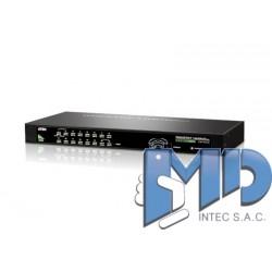 CS1316 - Conmutador KVM VGA PS/2-USB de 16 puertos