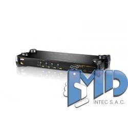 CS9134 - Conmutador KVM VGA PS/2 de 4 puertos