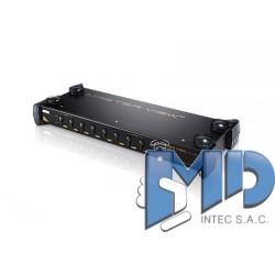CS9138 - Conmutador KVM VGA PS/2 de 8 puertos